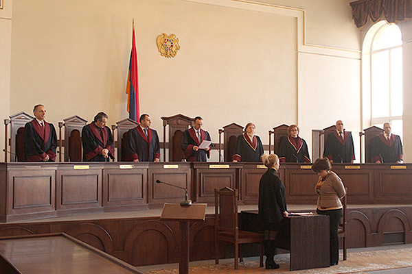 Judges of the Constitutional Court of Armenia (photo credit: The Court)