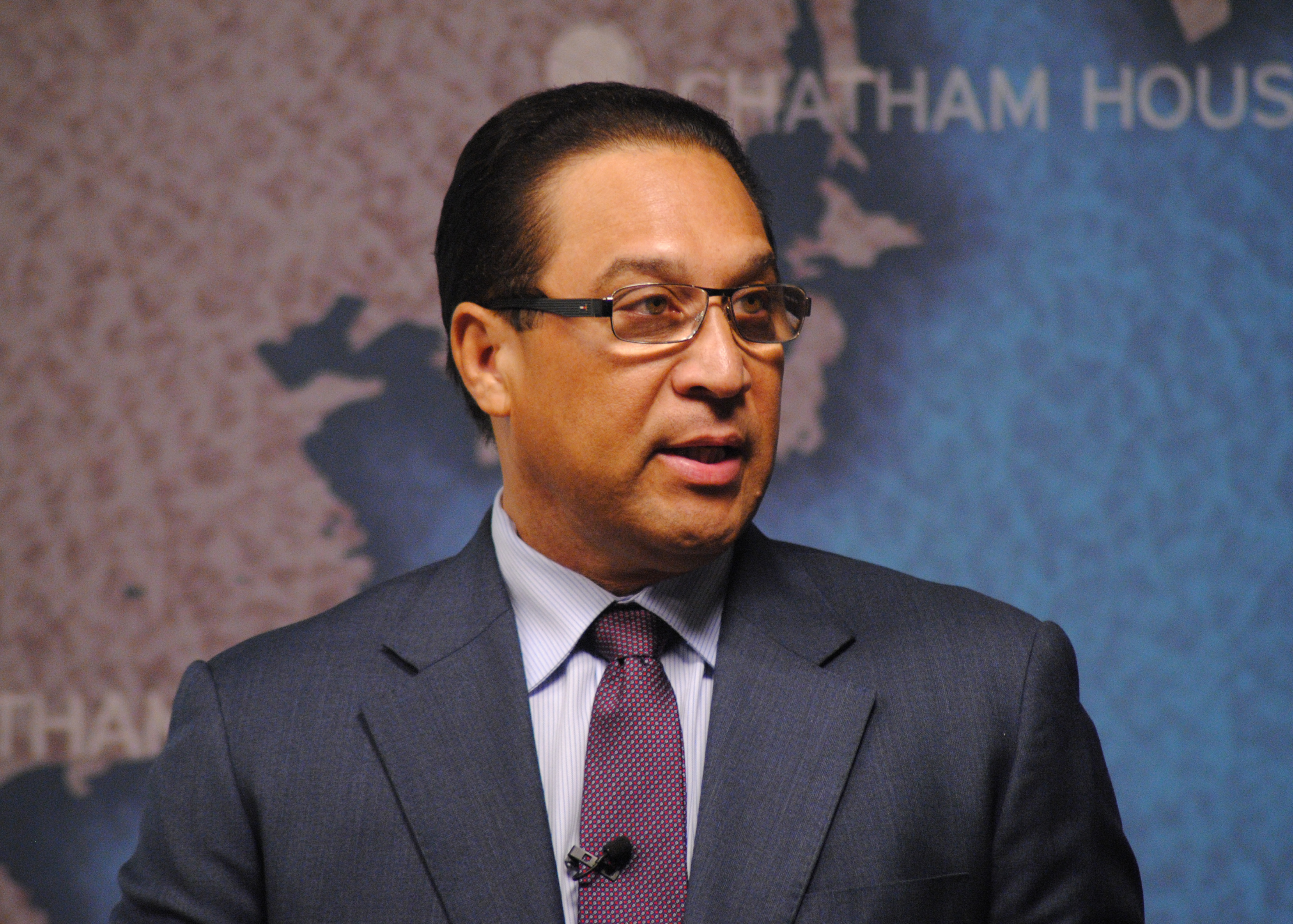 Premier Alden McLaughlin of the Cayman Islands (photo credit: Chatham House/flickr)