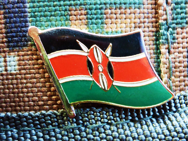 The flag of Kenya (Photo credit: Flickr)