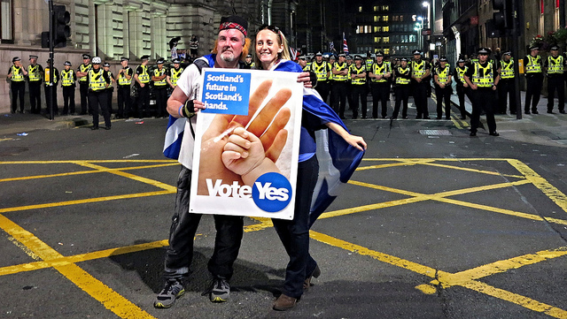 Scotland 2014 Independence Referendum (photo credit: Global Panorama/flickr)
