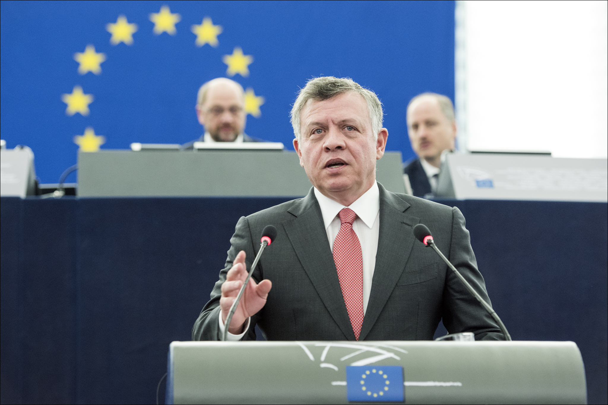 King Abdullah II of Jordan (photo credit: European Parliament/flickr)