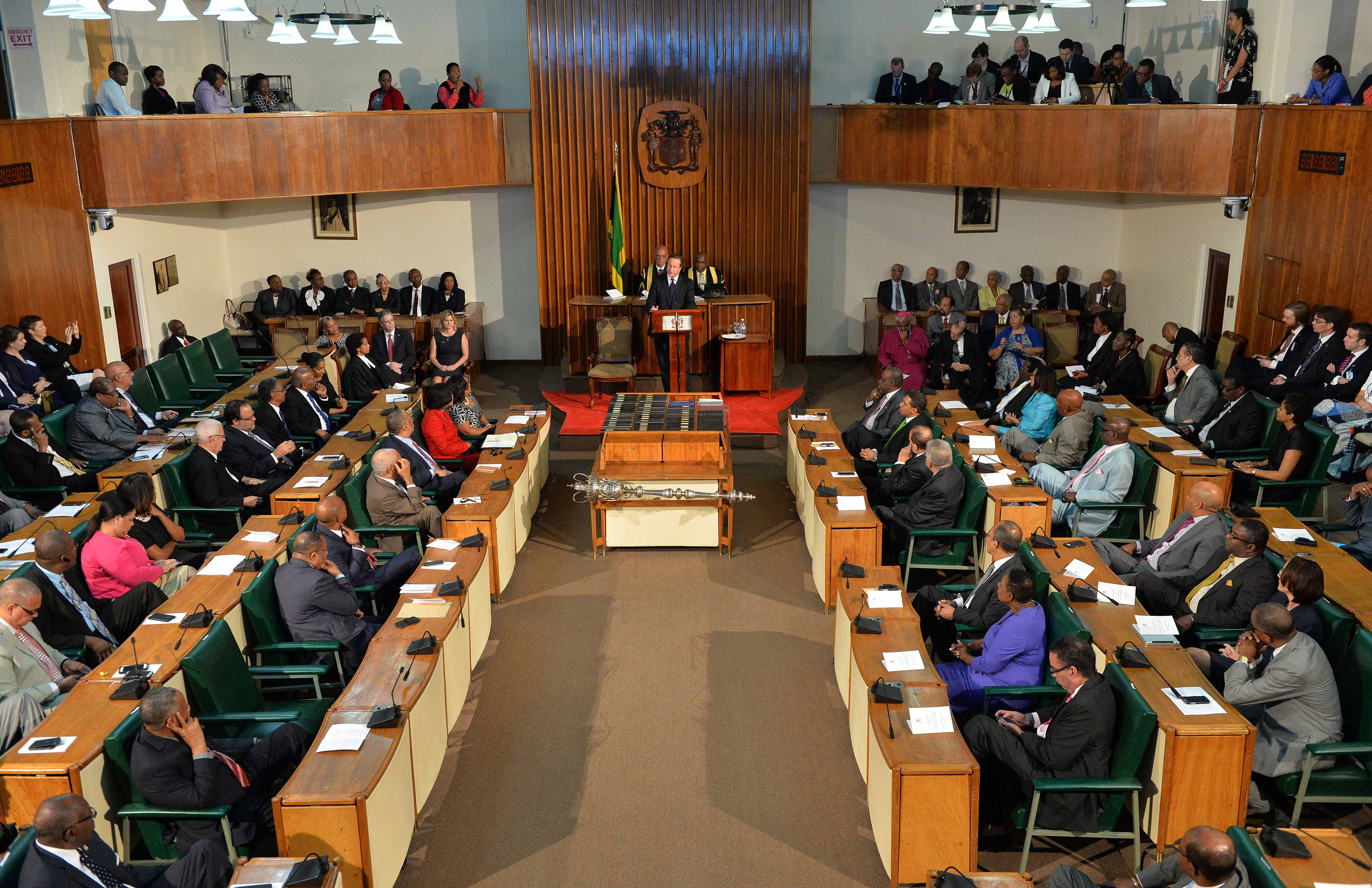Parliament of Jamaica (photo credit: Number 10/flickr)
