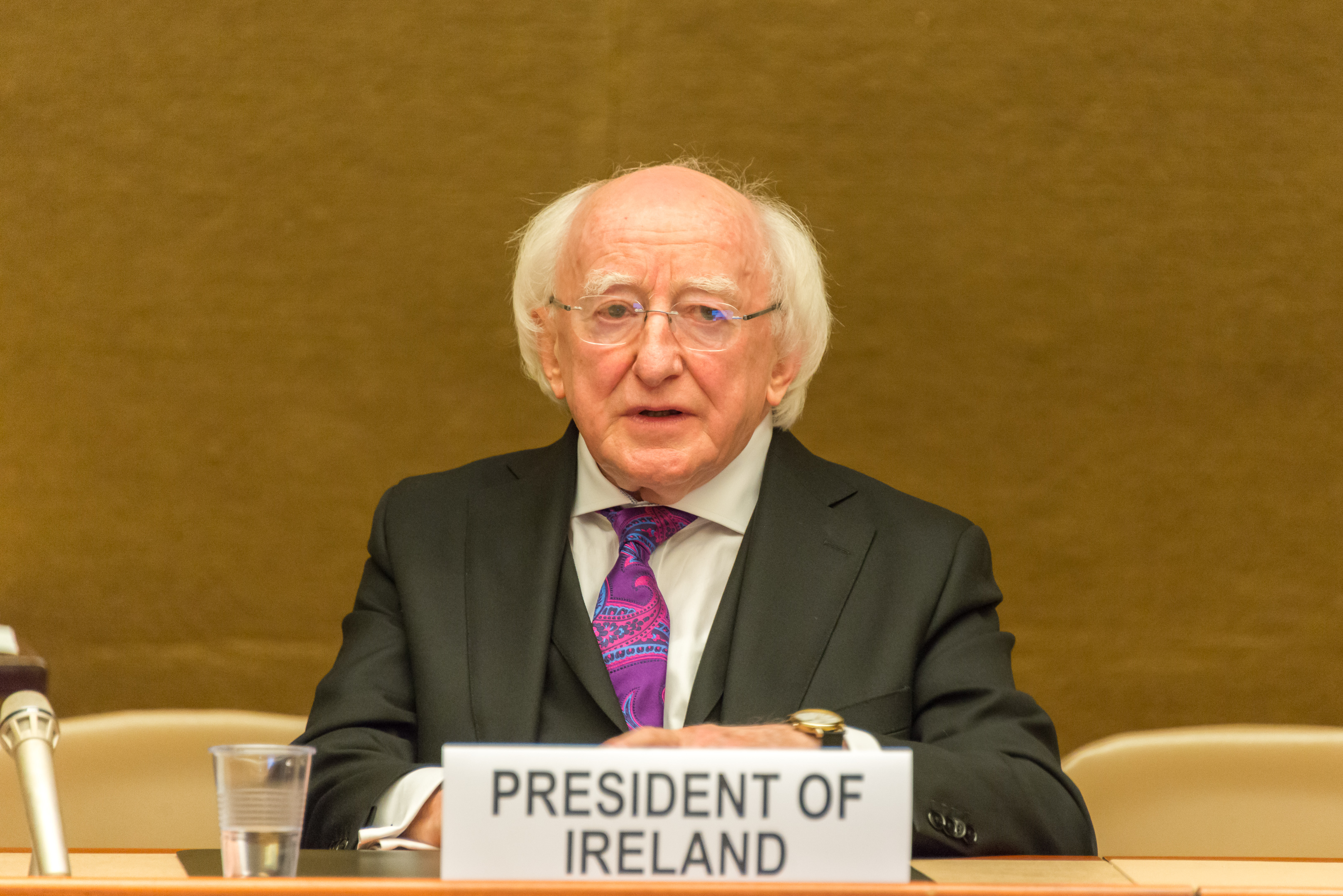 President Michael Higgins of Ireland (photo credit: UNCTAD/flickr)