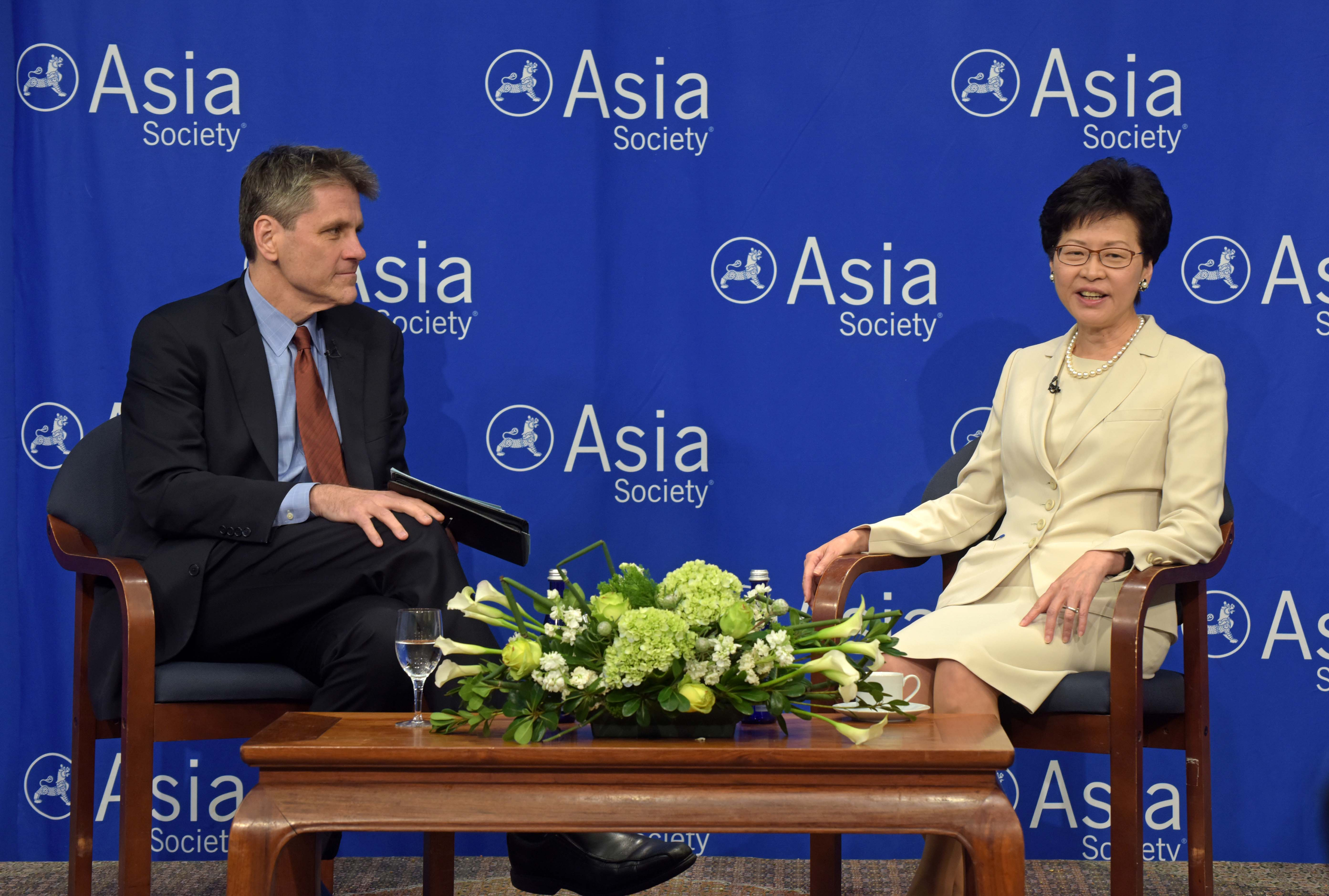 Chief Executive Carrie Lam of Hong Kong (photo credit: Asia Society/flickr)