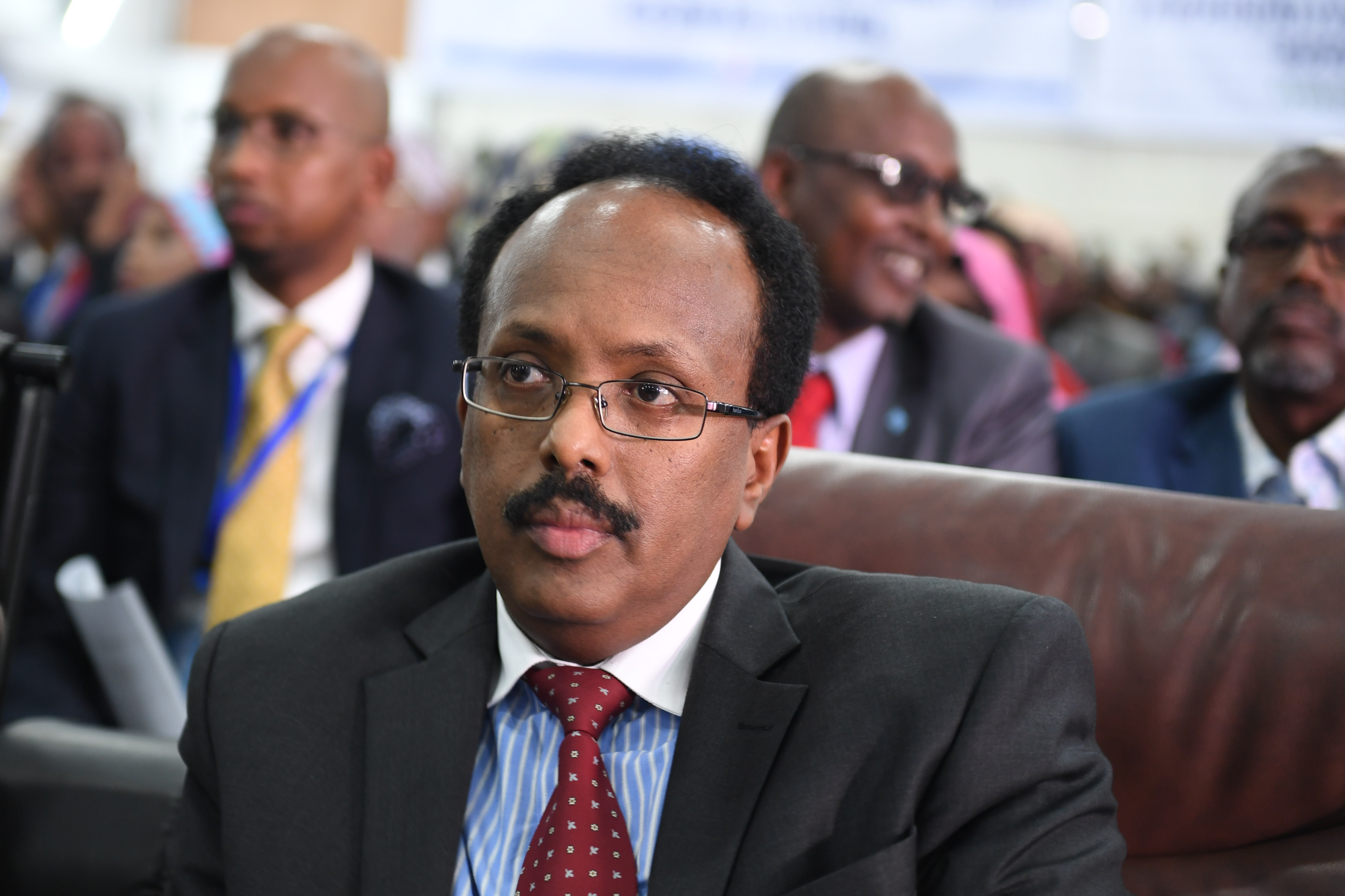 President Mohamed Abdullahi Farmajo of Somalia (photo credit: AMISOM Public Information/flickr)