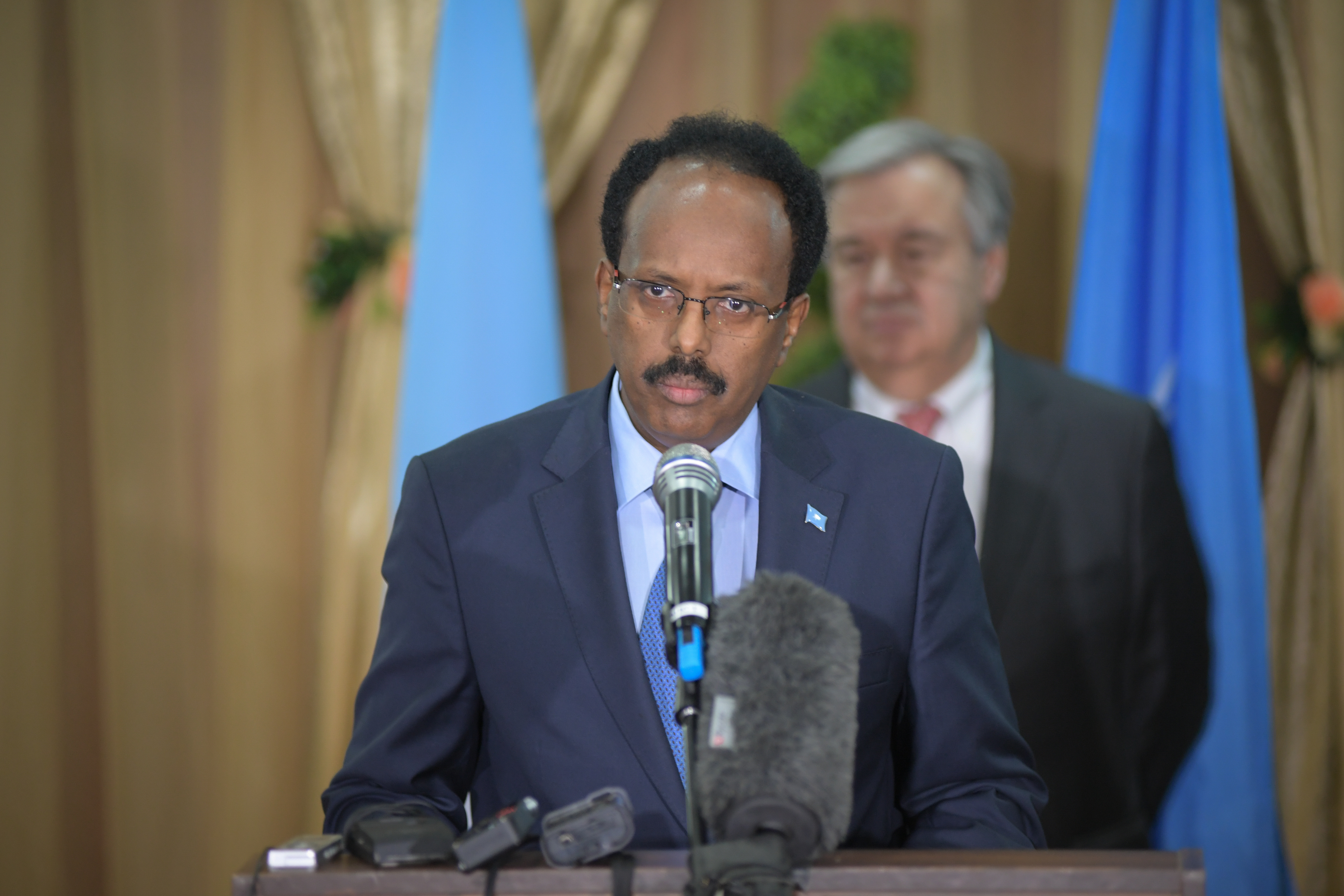 President Mohamed Abdullahi Farmaajo of Somalia (photo credit: UNSOM Somalia/flickr)