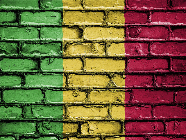 The flag of Mali (Photo credit: Flickr)