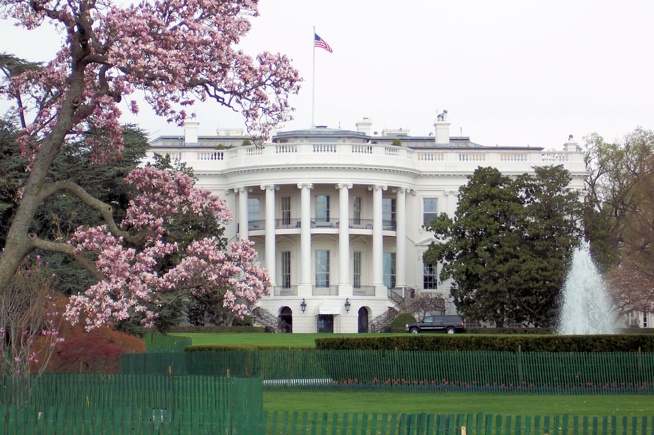 United States White House (photo credit: Jim Grey/flickr)