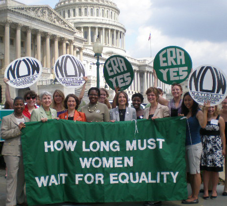 Rally for the Equal Rights Amendment (photo credit: National Organization for Women/flickr)