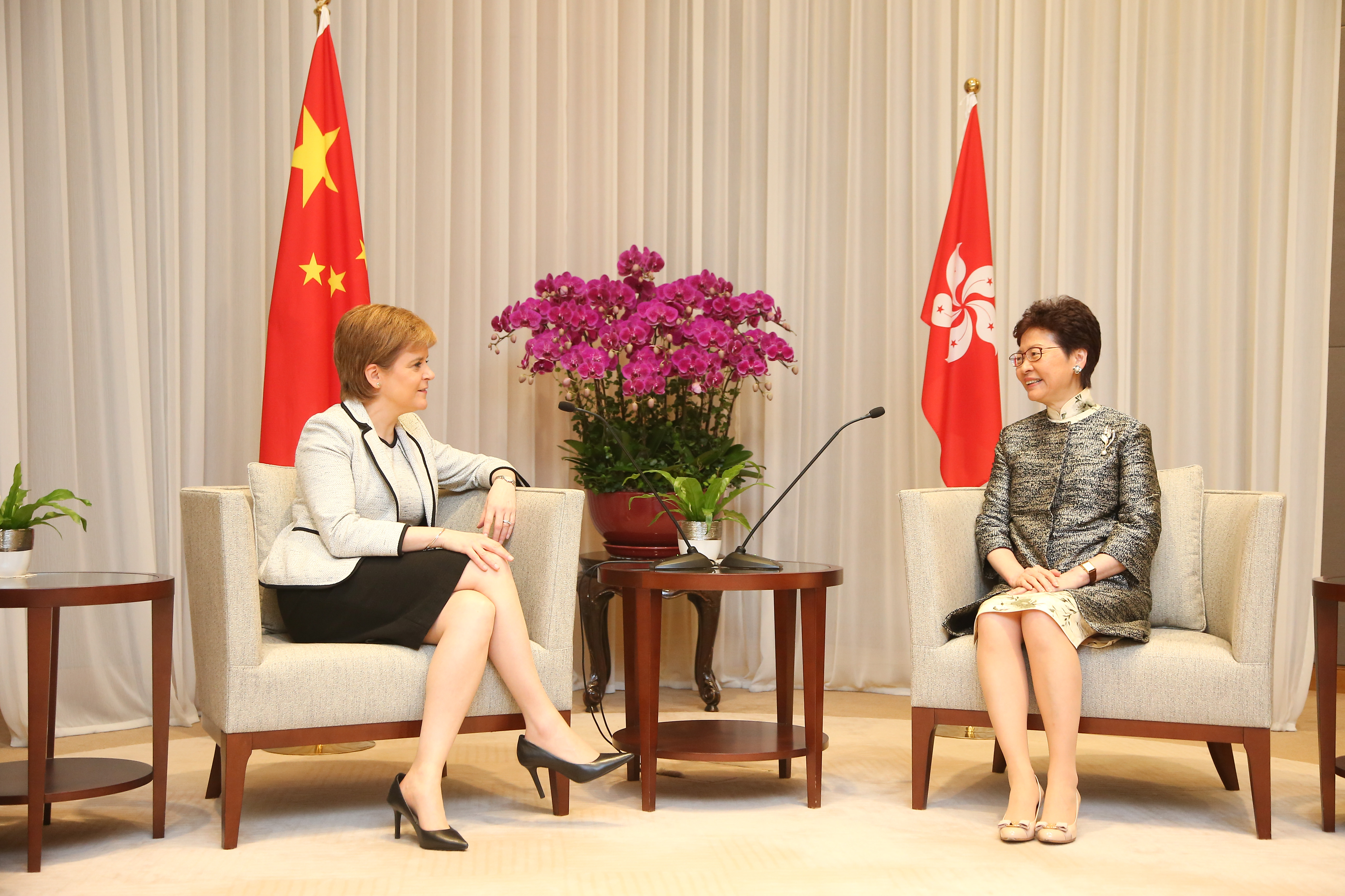 Chief Executive Carrie Lam of Hong Kong (photo credit: First Minister of Scotland/flickr)