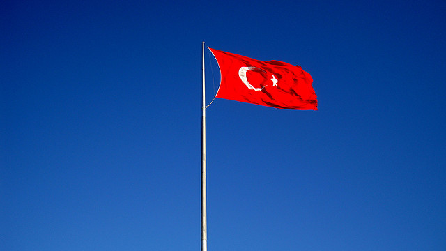 Turkish flag (Photo credit: Atila Yumusakkaya/ flickr)