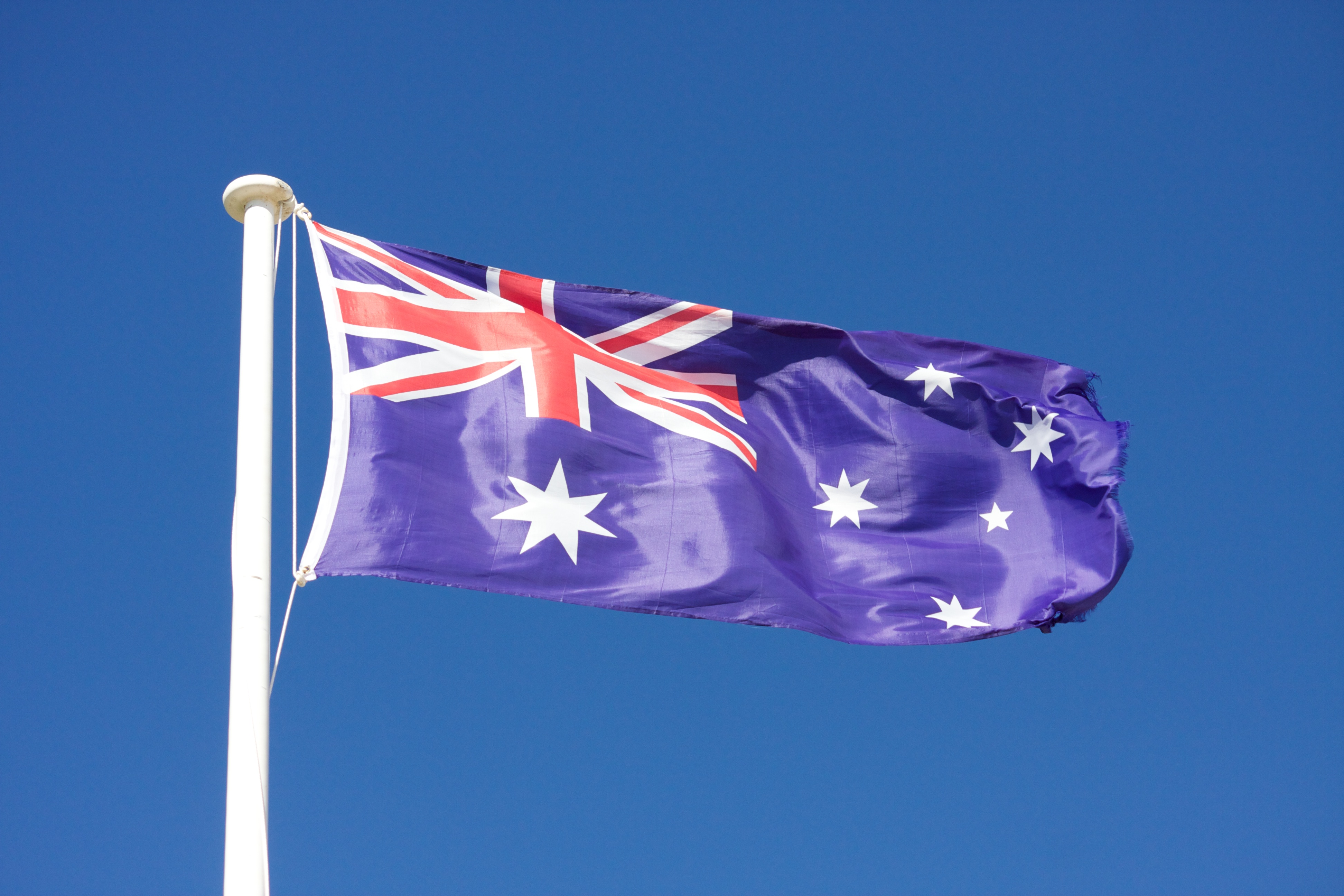 Flag of Australia (photo credit: Rob Berends/flickr)