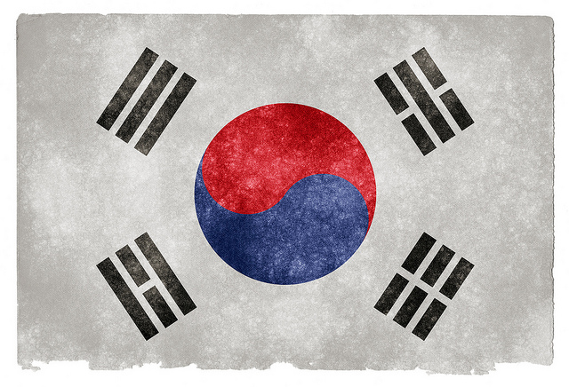 The flag of South Korea (Photo credit: Flickr)