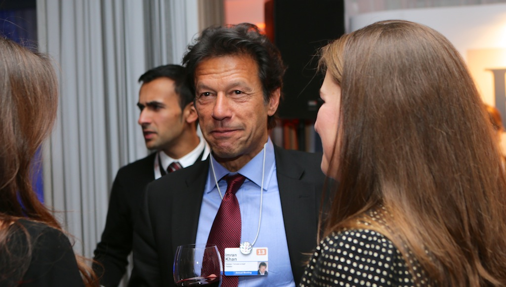Prime Minister Imran Khan of Pakistan (photo credit: Financial Times/flickr)