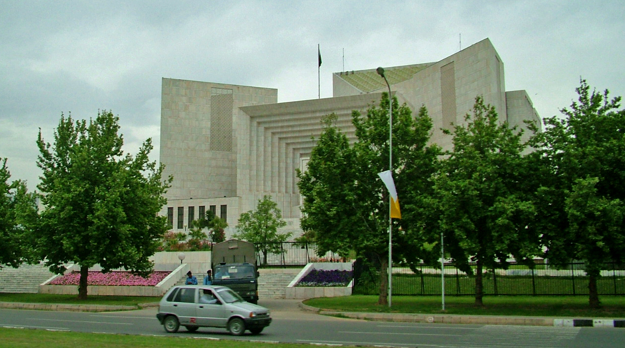 Supreme Court of Pakistan (photo credit: Guilhem Vellut/flickr)