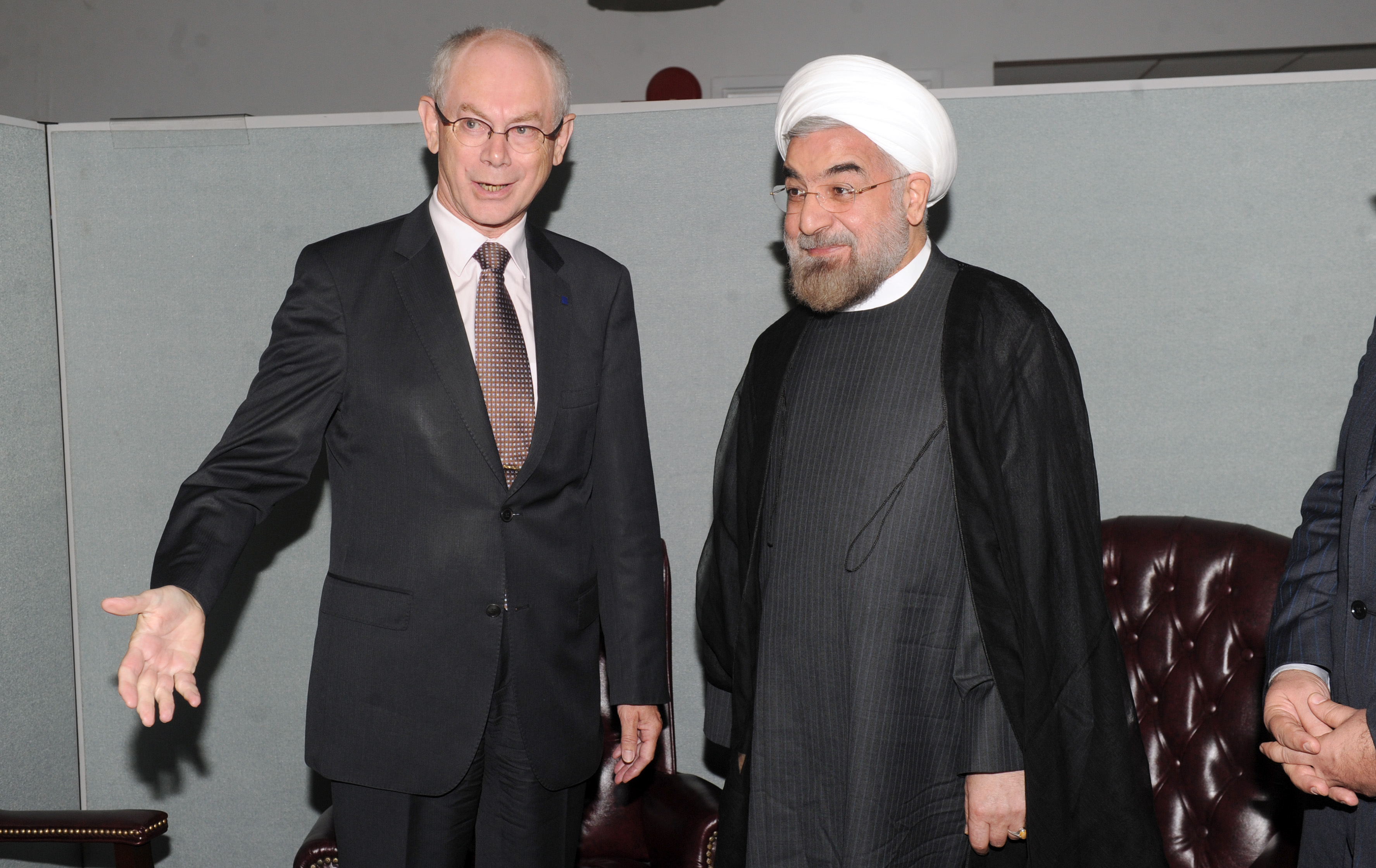 President Hassan Rouhani of Iran (photo credit: European External Action Service/flickr)