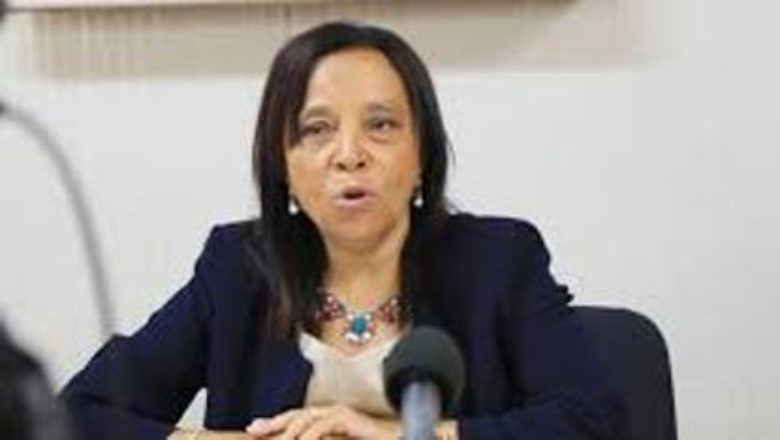 Constitutional Court President Professor Danielle Darlan (photo credit: Journal du Cameroun)