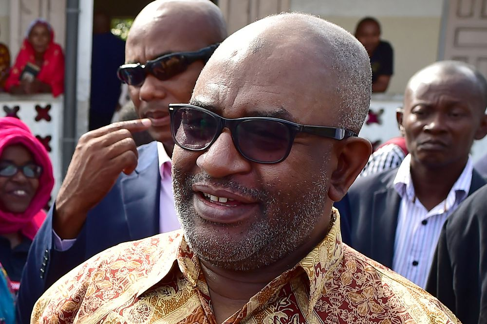 Comoros President Azali Assouman (photo credit: Tony Karumba/AFP via Getty Images)