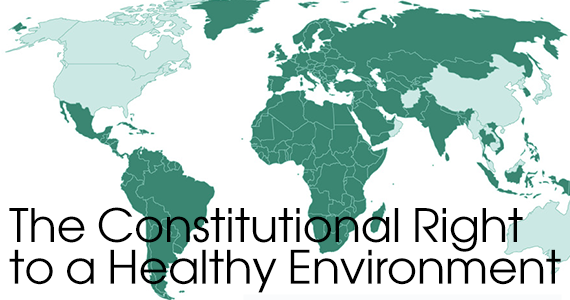 Constitutional Right to a Healthy Environment (photo credit: Law Now)