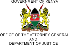 Logo of Office of Kenyan Attorney General and Department of Justice