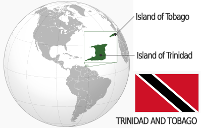 Map of Trinidad and Tobago (photo credit: Nationalia)