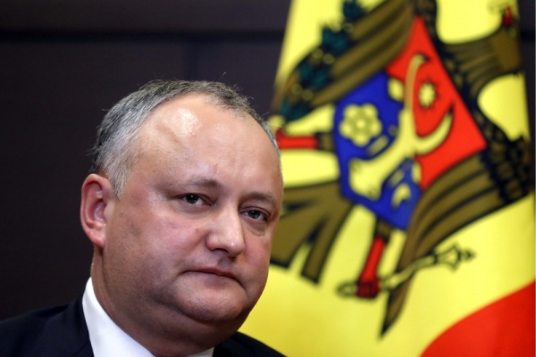 President Igor Dodon (photo credit: EurAsia Daily)