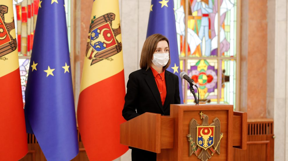 President of Moldova Maia Sandu (photo credit: Emerging Europe)