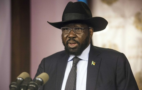 South Sudanese lawmakers began debating a constitutional amendment bill which would extend Salva Kiir's presidency (photo credit: Albert Gonzalez Farran /AFP)