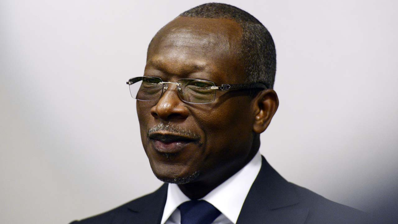 Benin's President Patrice Talon (Photo credit: THIERRY CHARLIER / AFP)