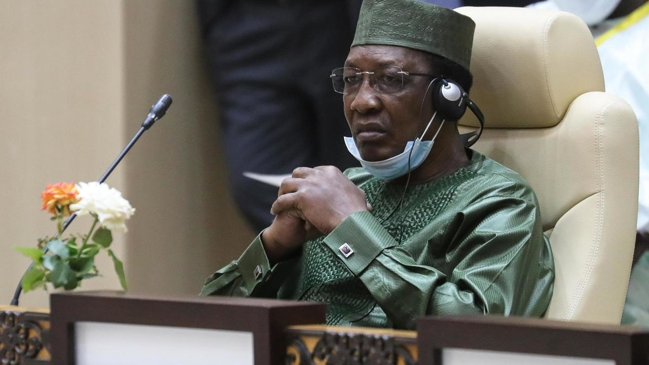 President Idriss Deby Itno (photo credit: Teller Report)