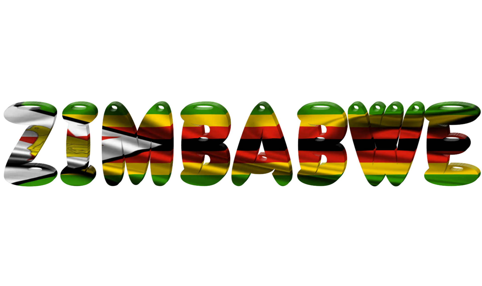 Illustration of Zimbabwean Flag (photo credit: Syafrani Jambe/Pizabay)