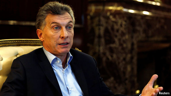 Argentinean president Mauricio Macri (photo credit: Reuters)