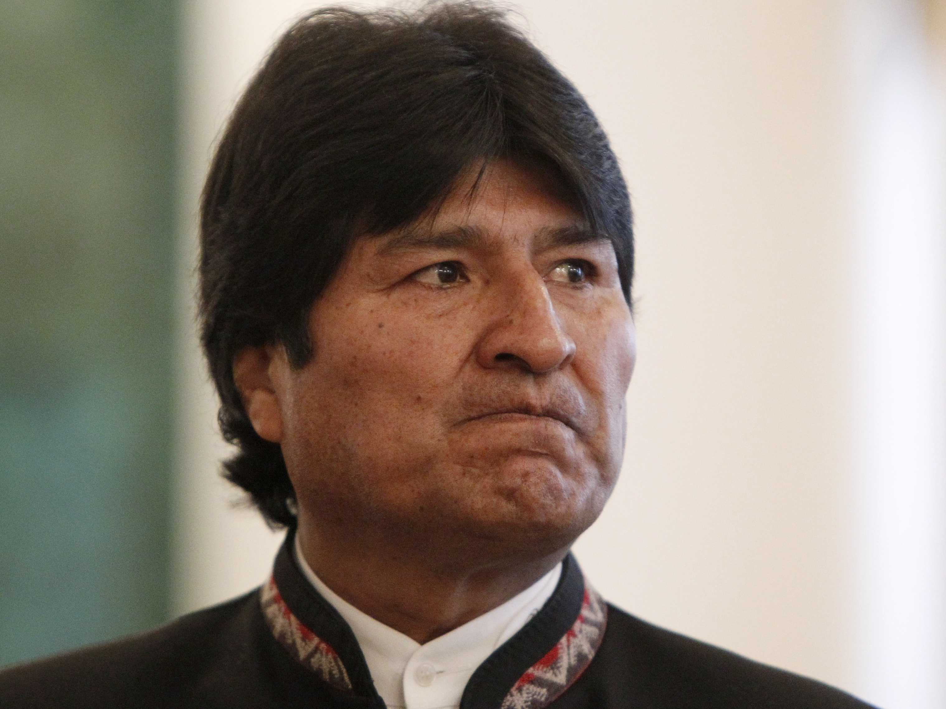 Bolivia Presidet Evo Morales (photo credit: www.businessinsider.com)