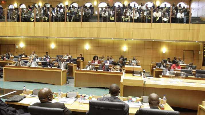 Botswana Parliament (photo credit: The Gazette)