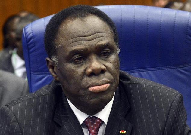 Burkina Faso Interim President Michel Kafando (photo credit: AFP)