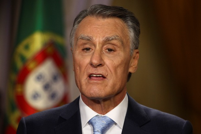 Cavaco Silva announced revision of state budget in New Year address (photo credit: LUSA)