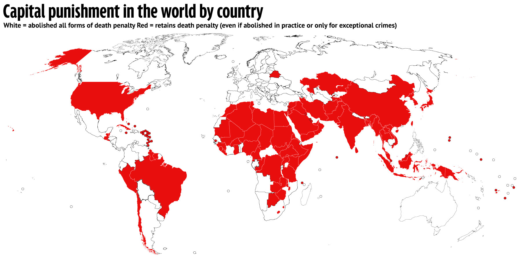 Zimbabwe constitution should completely abolish the death penalty world map death penalty under the law info graph credit amnesty international gumiabroncs Choice Image