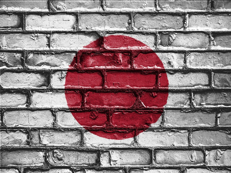 Flag of Japan (photo credit: David Peteron/pixabay)