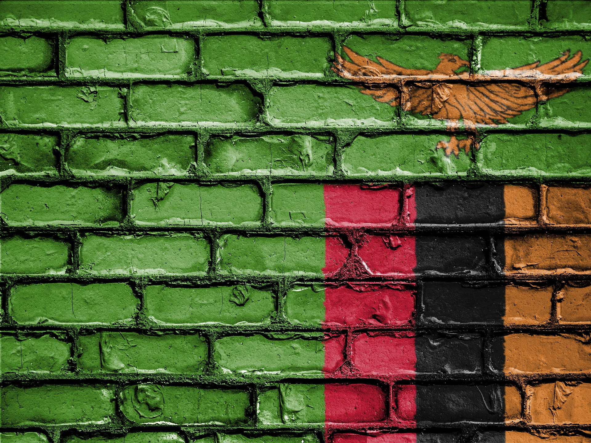 Flag of Zambia (photo credit: pixabay)