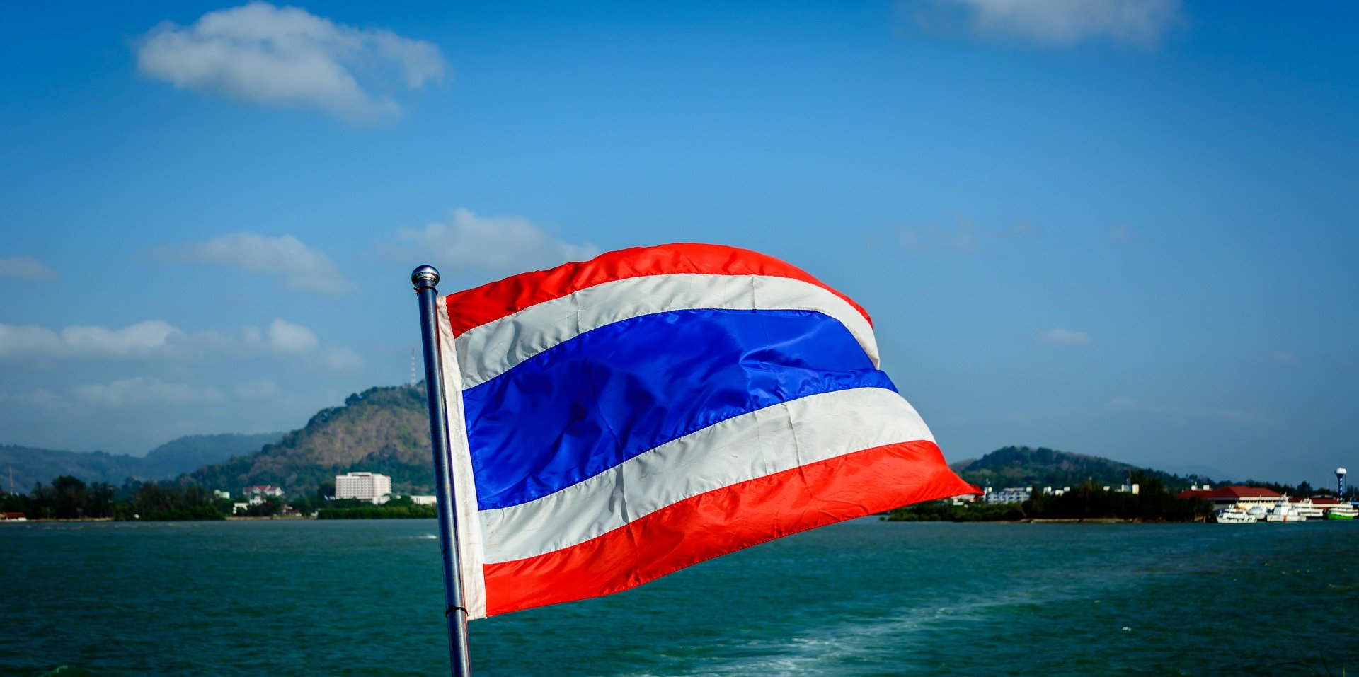 Flag of Thailand (photo credit: pixabay)