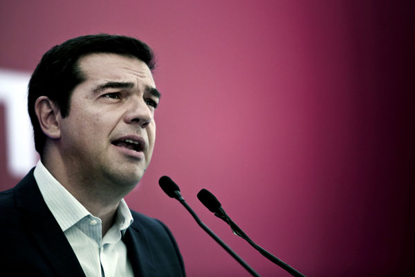 Greece Prime Minister Alexis Tsipras (photo credit: Business Recorder)