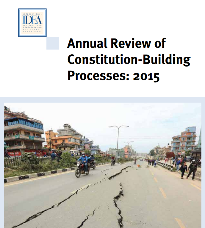 Annual Review of Constitution-Building Processes: 2015