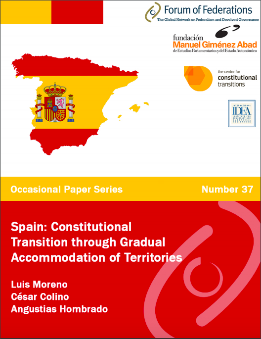 Spain: Constitutional Transition through Gradual Accommodation of Territories: Number 37