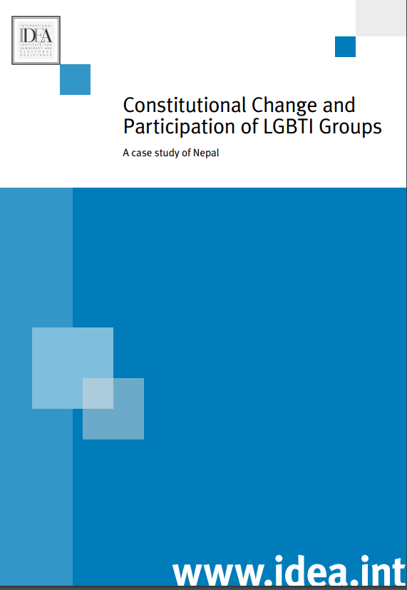 Constitutional Change and Participation of LGBTI Groups: A case study of Nepal