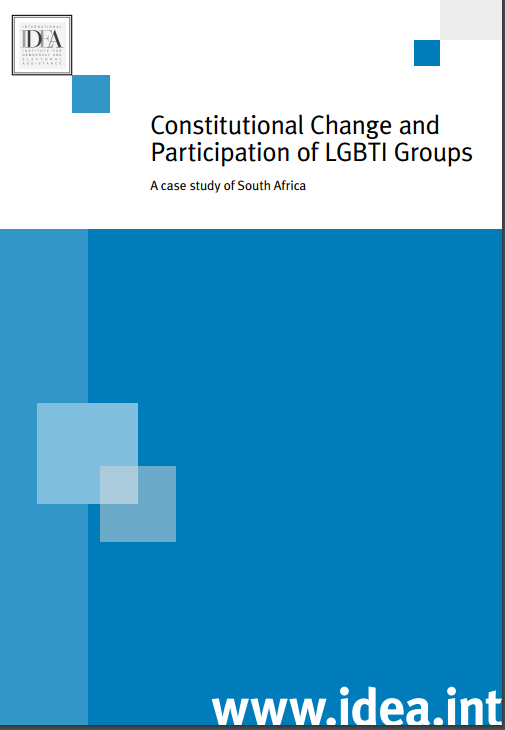 Constitutional Change and Participation of LGBTI Groups: A case study of South Africa