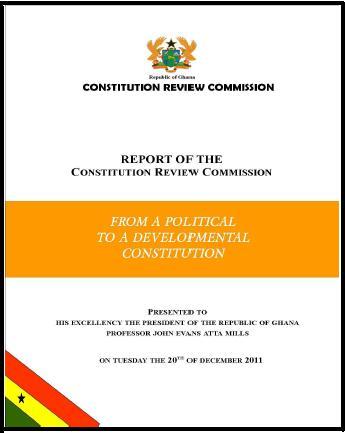 Ghana Constitution Pdf