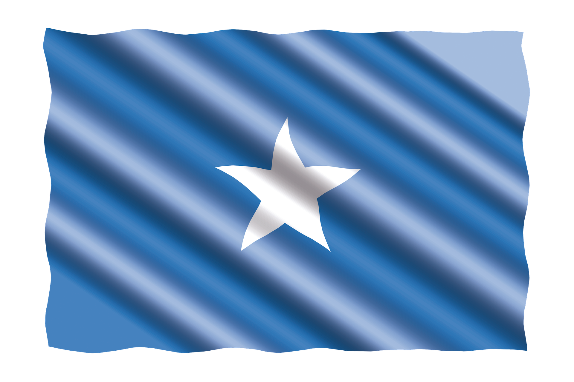 Flag of Somalia (photo credit: pixabay)