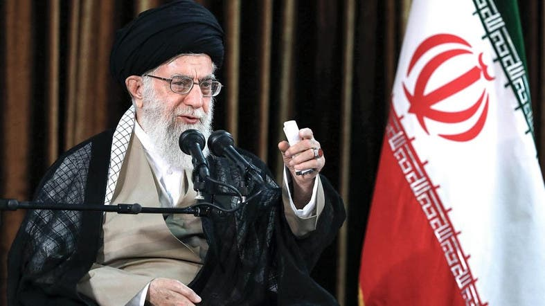 Supreme Leader of Iran, Ayatollah Ali Khamenei (photo credit: AFP)
