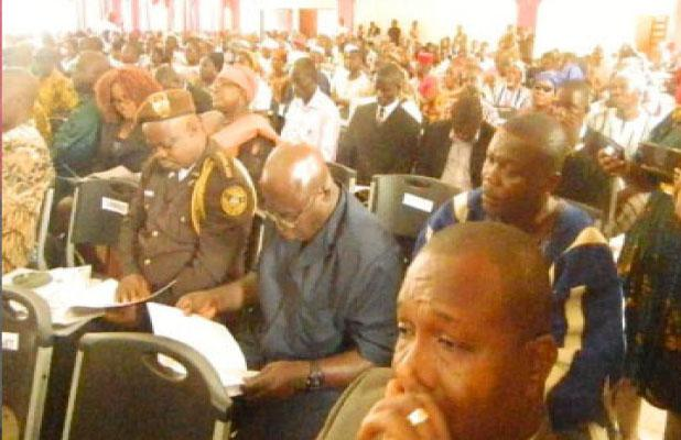 Delegates attending the Gbarnga Conferene (photo credit: Daily Observer)