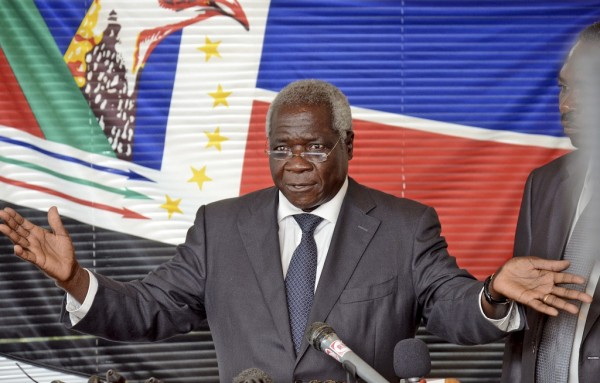 Renamo leader Afonso Dhlakama (Photo credit: EPA)